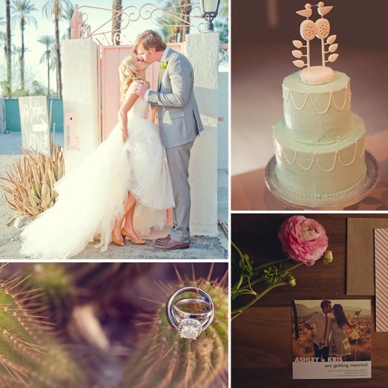 Desert Oasis: Palm Springs Wedding Inspiration