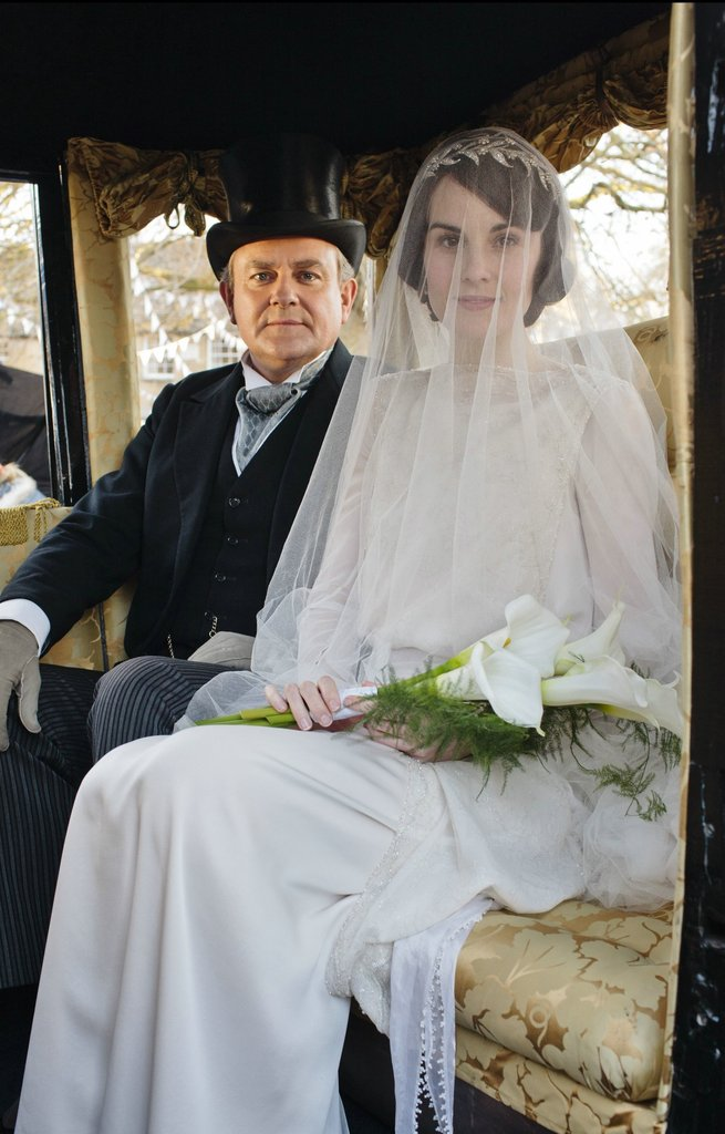 Robert and Mary take a carriage ride to the church. Source: PBS