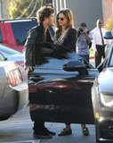 Orlando Bloom and Miranda Kerr showed PDA in LA.
