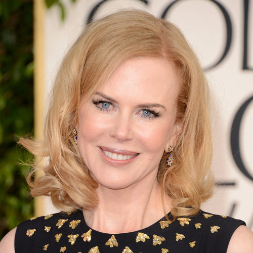 Pictures of Nicole Kidman at the 2013 Golden Globes