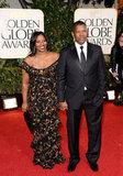 Denzel Washington and Pauletta Washington