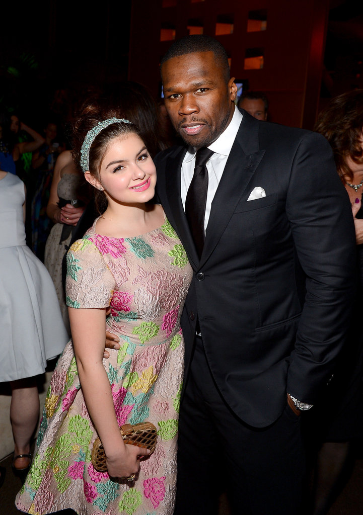 "Ariel Winter and Curtis ""50 Cent"" Jackson"