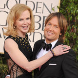 Nicole Kidman and Keith Urban at 2013 Golden Globes