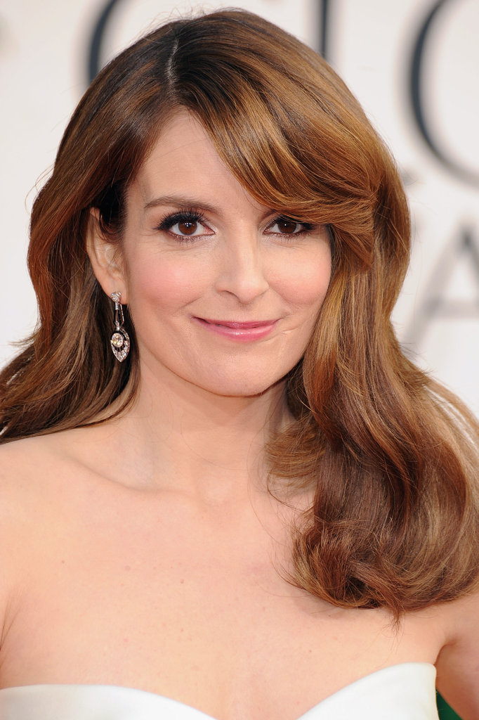 Tina Fey looks flawless at the 2013 Golden Globe Awards.