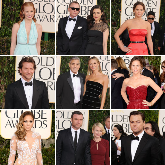 See All the Star-Studded Golden Globes Arrivals!