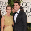 Emily Blunt and John Krasinski at the Golden Globes 2013