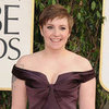 Lena Dunham at the Golden Globes 2013 | Pictures