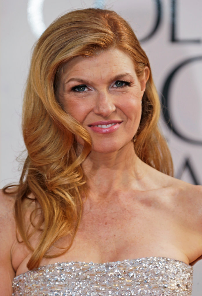 Connie Britton glowed at the Golden Globes Sunday night.