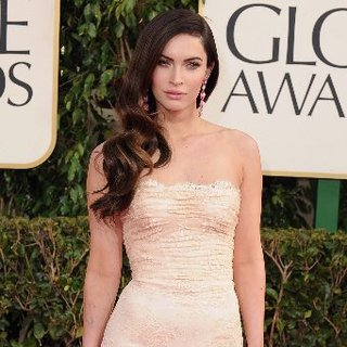 Megan Fox Pictures at 2013 Golden Globes