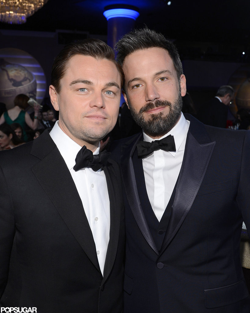 Leonardo DiCaprio and Ben Affleck