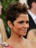 Halle Berry Shows Some Leg at the 2013 Golden Globes
