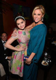 Ariel Winter and Julie Bowen hung out at Fox's bash.
