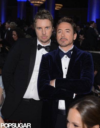 Dax Shepard and Robert Downey Jr. mugged for the camera.