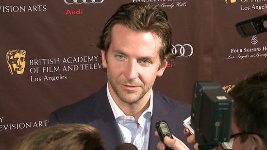 "Bradley Cooper Calls Awards Anticipation ""Crazy Talk"""