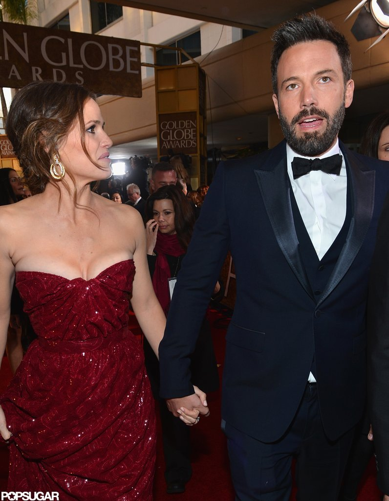 Jennifer Garner was proud of her real life leading man.