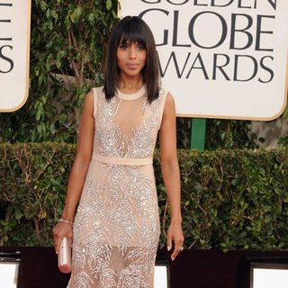 Kerry Washington at the Golden Globes 2013