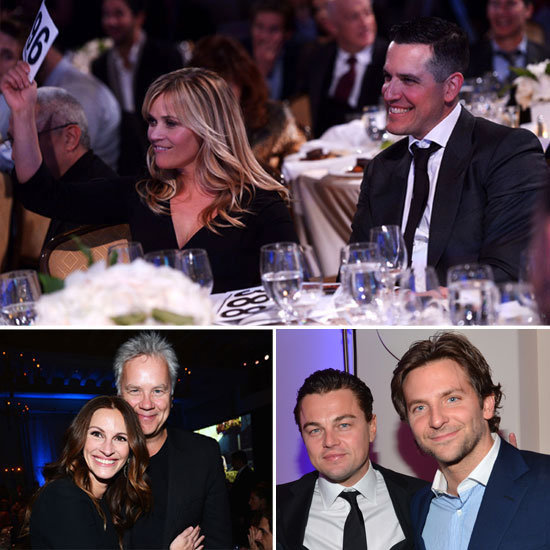 Reese, Leo, Julia, and Famous Friends Help Haiti at Sean Penn's Gala