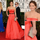 Jennifer Lawrence | Golden Globes Red Carpet Fashion 2013