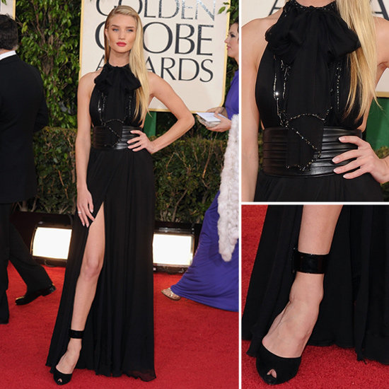 Rosie Huntington-Whiteley | Golden Globes Fashion 2013