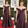 Lena Dunham | Golden Globes Red Carpet Fashion 2013