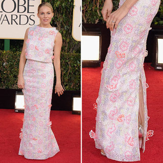 Sienna Miller | Golden Globes Red Carpet Fashion 2013