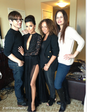 Eva Longoria Has Quite a Team