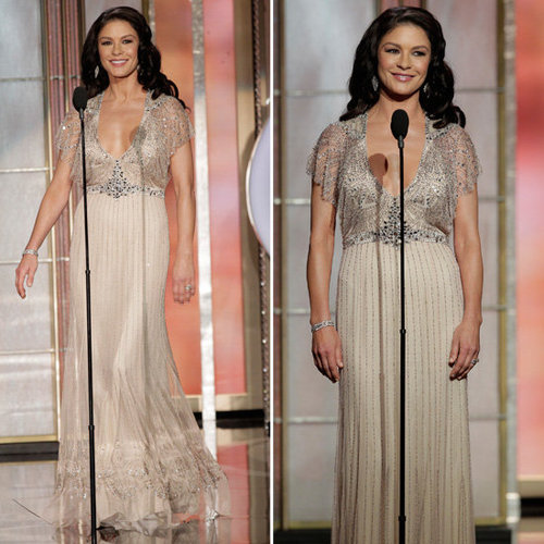 Catherine Zeta-Jones | Golden Globes Red Carpet Fashion 2013
