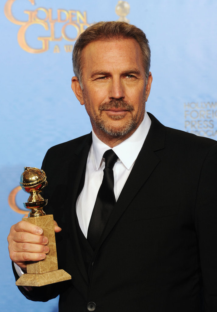Now: Kevin Costner