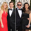 Claire Danes and Hugh Dancy at Golden Globes
