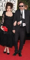 Helena Bonham Carter and Tim Burton(2013 Golden Globes Awards)