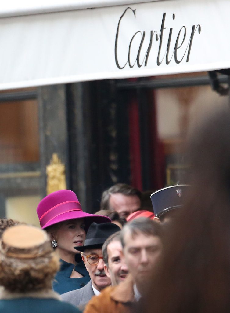Nicole Kidman walked outside Cartier.