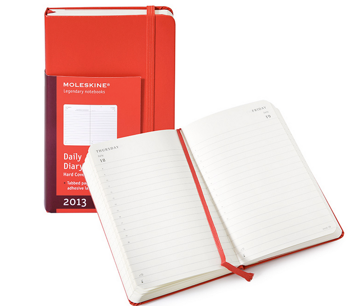 Fire Engine Red Planner
