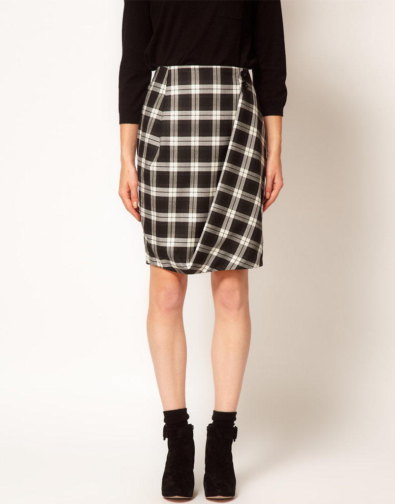 Plaid never looked so cool, thanks to this ASOS Check Twisted Pencil Skirt ($63). Just add a cozy turtleneck and ankle boots for a foolproof Winter ensemble.