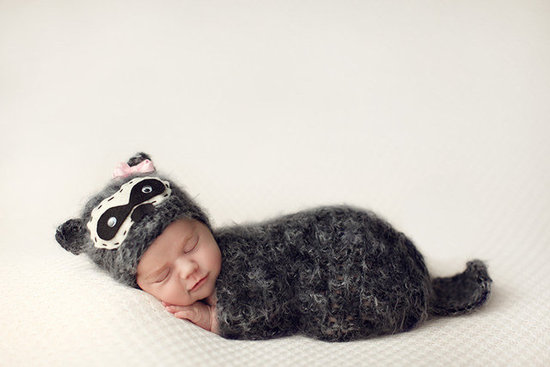 Fashion Touch Baby Raccoon Set