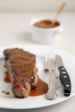 Start With: Steak With Miso Mustard Butter Sauce