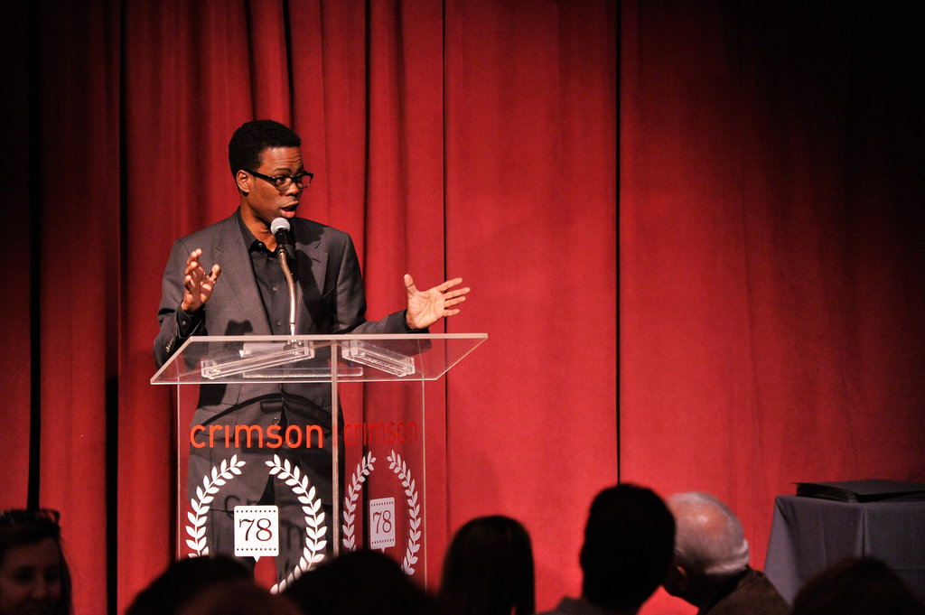 Chris Rock attended the NY Film Critics Circle Awards.