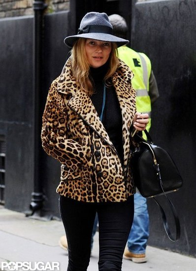 Kate Moss stepped out in London.
