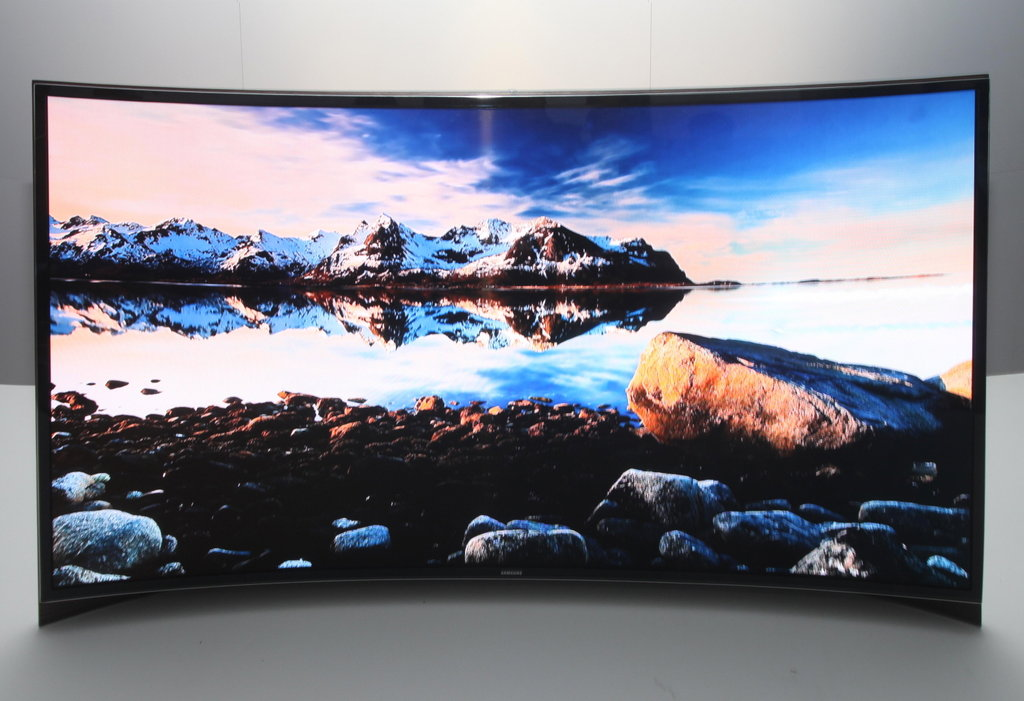 Samsung's Curved TV Concept