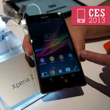 Sony's Xperia ZL and Water-Resistant Xperia Z Phones Up Close