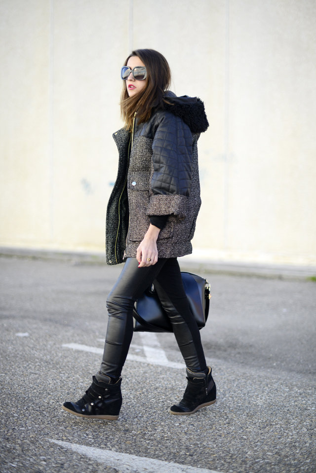 An enviable bit of sporty street style — we'll take that coat, for starters. Source: Lovely Pepa