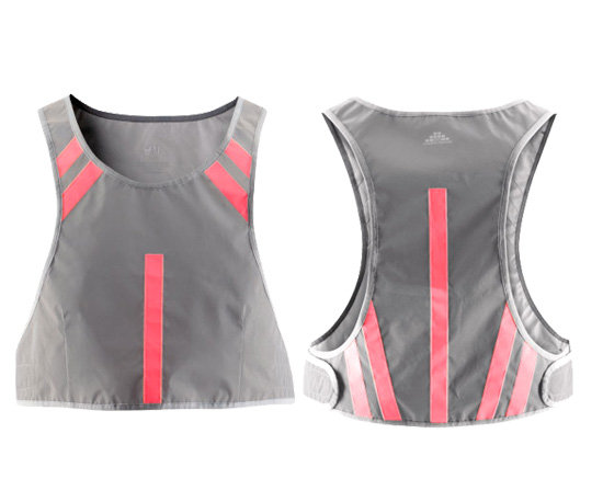 Reflective vest ($18) from H&M Sports collection.