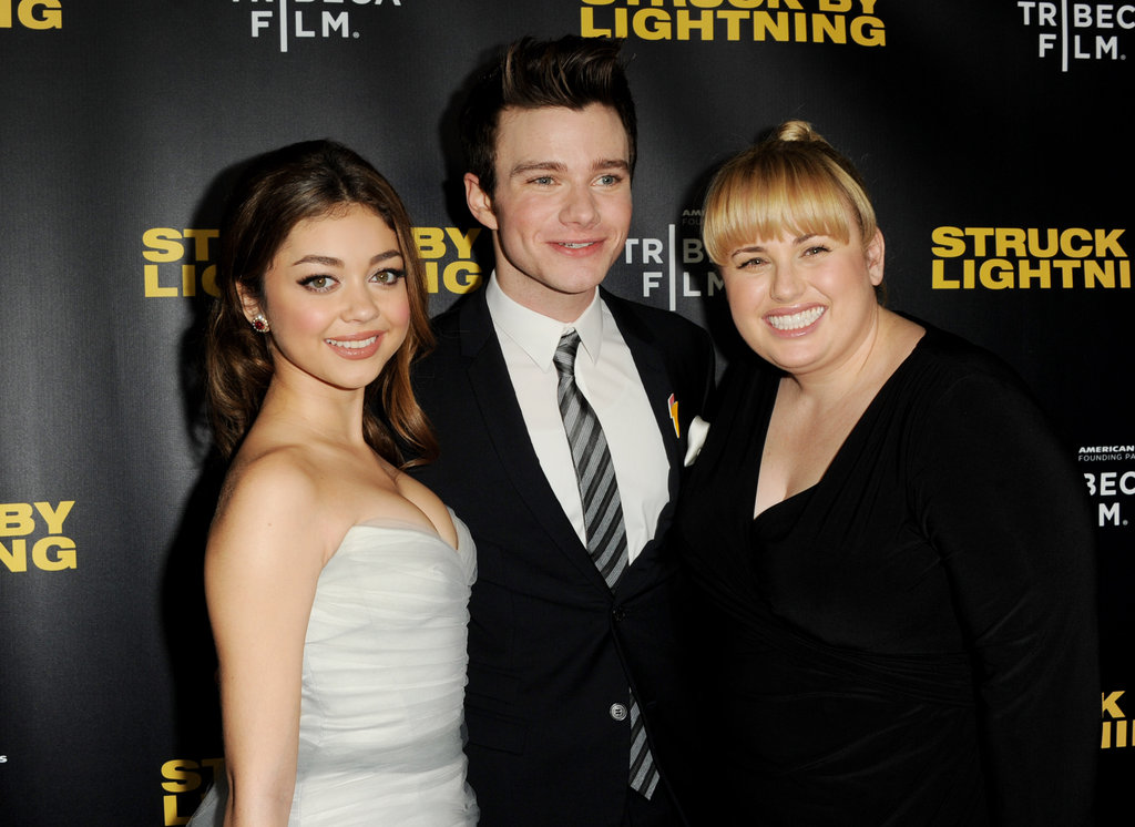 Sarah Hyland, Chris Colfer and Rebel Wilson