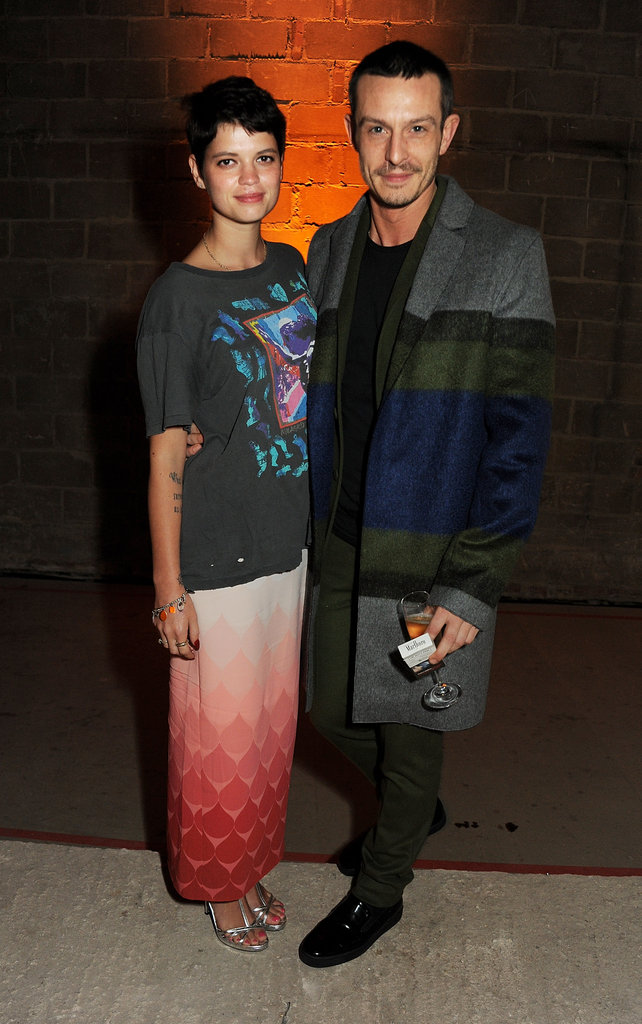 Pixie Geldof and Jonathan Saunders