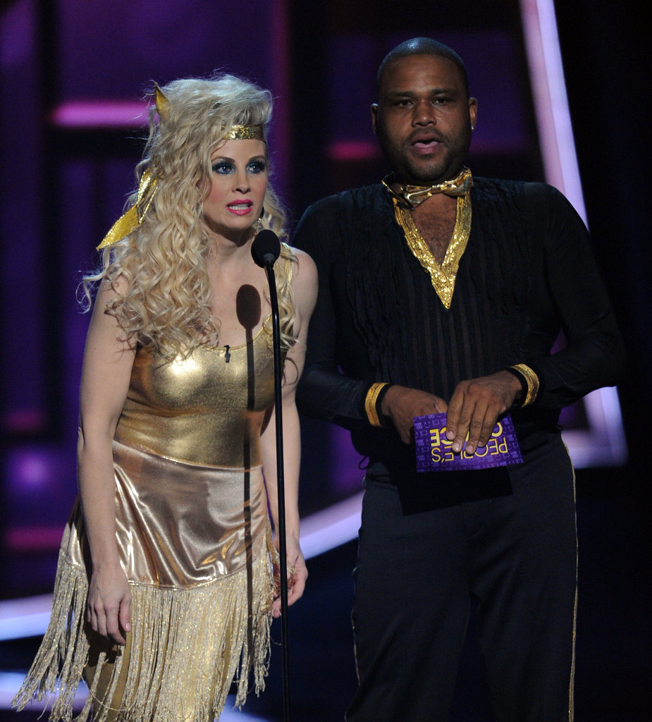 Monica Potter and Anthony Anderson