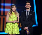 Chloë Moretz and Matt Bomer