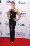 Heidi Klum walked the red carpet at the PCAs.