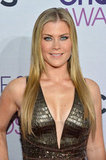 Allison Sweeney rocked a metallic look.