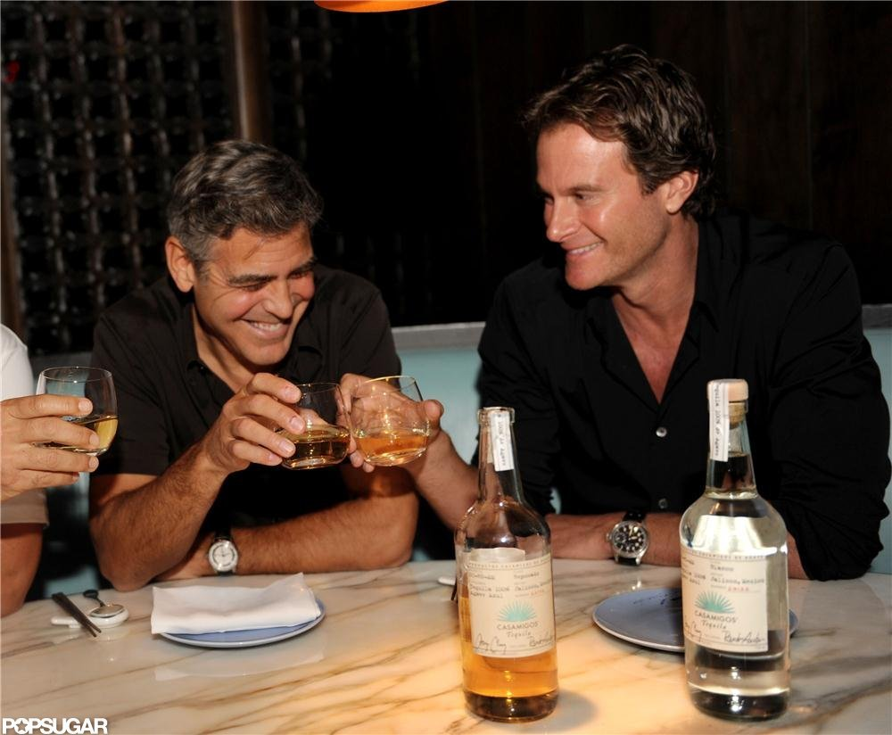 George Clooney launched his new tequila, Casamigos.