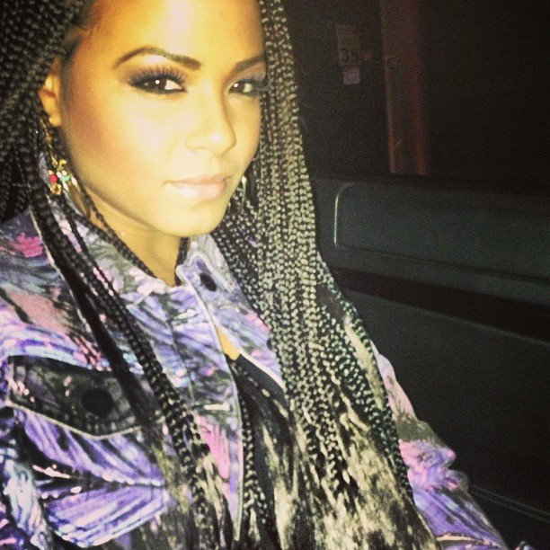 Christina Milian showed off her new braided 'do. Source: Instagram user christinamilian