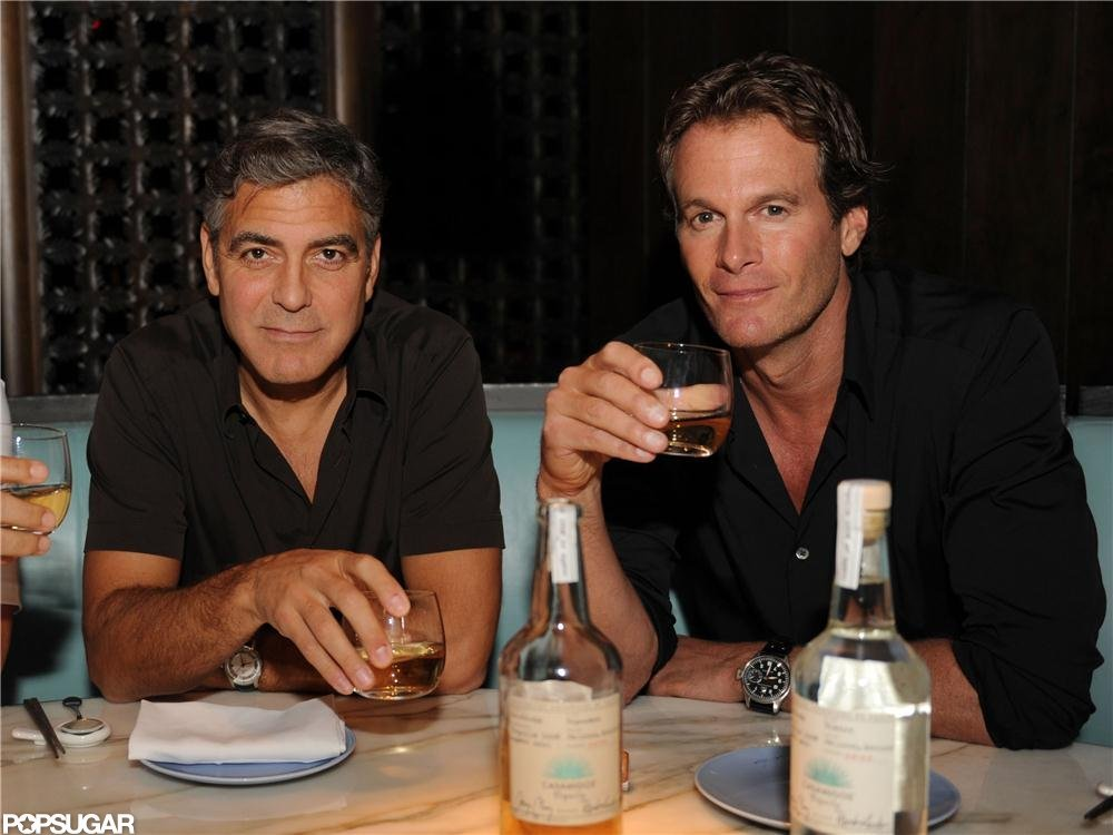 George Clooney and partner Rande Gerber launched Casamigos tequila in Florida.